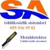 Metaldetektorlar .tehlukesizlik sistemleri