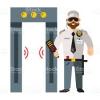 Qapı tipli metal detektor