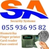 Finger print, card reader, face control – access control sis