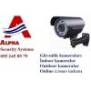 Musahide kameralari ve sistemleri alpha