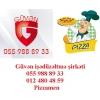 Pizzamen isci  .. 055 988 89 33 ..