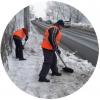 Уборка от снега – 12 руб./м2