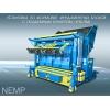 Вибропресс упб-пм для производства фундаментных блоков