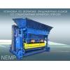 Вибропресс упб-см для производства фундаментных блоков